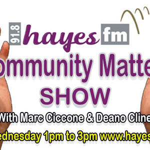 Community Matters Show - Wednesday 26th August 2020 - 1pm to 3pm - Guest Uxbridge BID