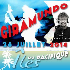 Giramundo - les îles du Pacifique en musique et en culture avec Yves Simon (26 juillet 2014)