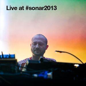 Live from #sonar2013 Paul Kalkbrenner