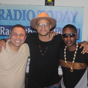 Cavall Burgess welcomes Mohombi to #MYWorld