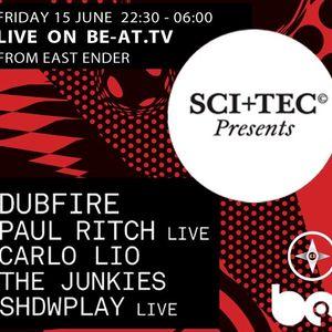 Paul Ritch - Live @ East Ender, Sci+Tec, Sonar 2012 - 15.06.2012