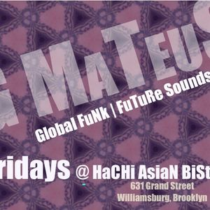 DJ g_mateus @ Hachi Asian Bistro | September 21, 2012 - Set 1