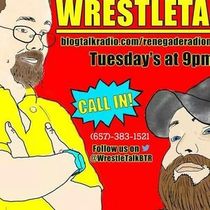 """Wrestle Talk with Joe and Rick - Shane """"Swerve"""" Strickland"""