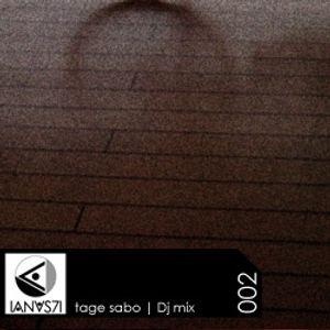 Tagesabo (IANUS71 - SAOBI) Mix Podcast 002 - DJ Set - Recorded live