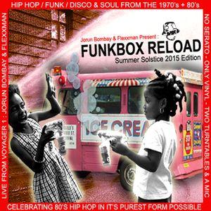 DJ JORUN BOMBAY'S FUNKBOX RELOAD - SUMMER SOLSTICE WEEKEND EDITION 2015 (Co-Hosted by Flexxman)