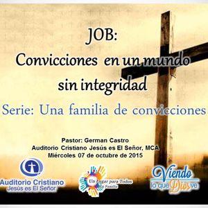 JOB: Convicciones en un mundo sin integridad