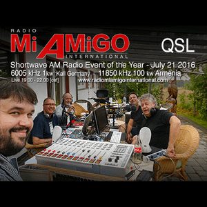 Shortwave AM Radio Event of the Year - Live from our transmitter site in Kall, Germany July 21, 2016