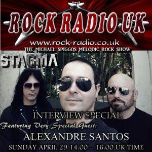 The Michael Spiggos Melodic Rock Show feat. Alexandre Santos (Stagma, Scar For Life) 29.04.2018