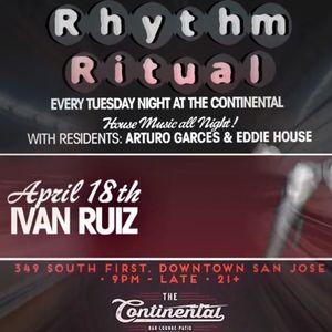 Ivan Ruiz Live @ Rhythm Ritual 4-18-17