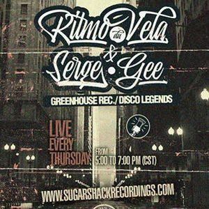 Ritmo Du Vela & Serge Gee Live @ Sugar Shack Radio April/07/2016