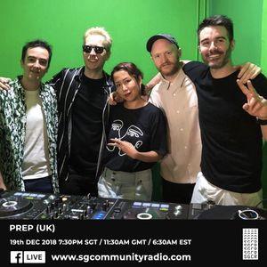 SGCR Radio Show #102 19.12.2018 Episode ft. PREP (UK)