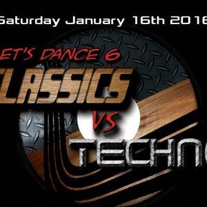 RandomDoug & el Duran - Classic vs Techno @ Toika (Jan.16.2016)