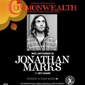 Commonwealth 28 September 2011 featuring Jonathan Marks of Hey Champ