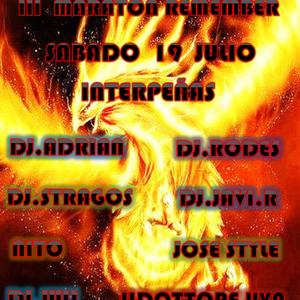 LAS DOS ULTIMAS HORAS DE LA III MARATON REMEMBER,DE 6:00 A 8:OO DE LA MAÑANA EN  PUB DRUIDA