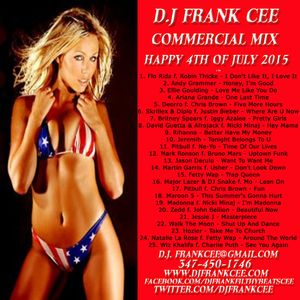D.J. FRANK CEE - COMMERCIAL MIX JULY 2015