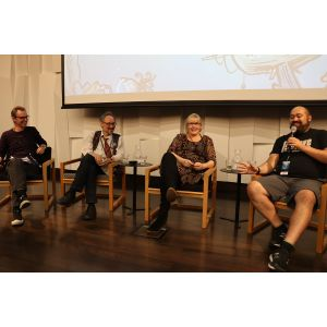 Perspectives on Cartooning Life : Sharon Murdoch, Michel Mulipola, Roger Langridge & Dylan Horrocks