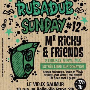 DJ-BOUDDHA at RUB A DUB SUNDAY # 12 -27-01-2013