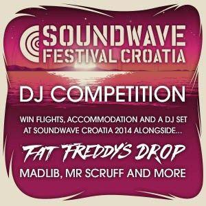 The sunburst mix - Soundwave Croatia 2014 DJ Competition Entry