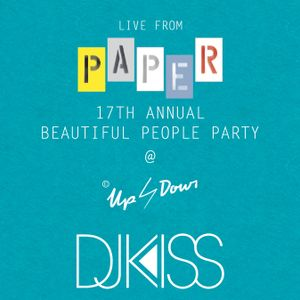 Live from Paper Magazine's 2014 Beautiful People Party