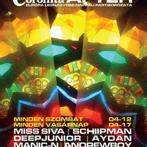 Miss Siva, Slide, Andrewboy, Manic-N - Coronita live (2011.02.06.)