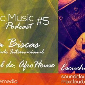 Wave Electronic Music Podcast #5 Mixed By: Dj Faisca aka Biscas