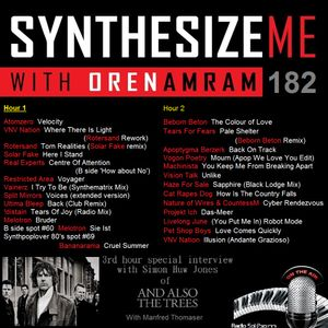 Synthesize Me #182 - 24/07/2016 - hour 1