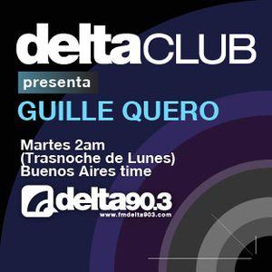 Delta Club presenta Guille Quero (31/01/2012)