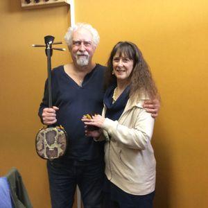 Guests David Hughes and Gina Barnes, 7th March 2018