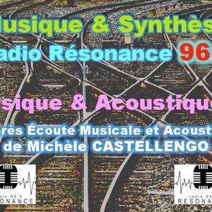 Musique & Synthèse Écoute Musicale & Acoustique 3/3