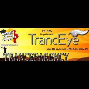 TrancEye guest mix - Dave Disley - Tranceparency 033