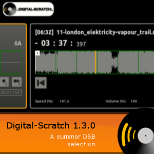 DigitalScratch 1.3.0 - A summer d&b selection