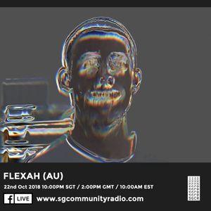 SGCR Radio Show #92 - 22.10.2018 Episode ft. Flexah (AU)