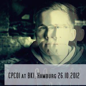 CPC01 @BKI, Hamburg 26.10.2012