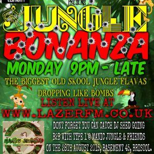 DJ Shed - Lazer Fm - LIVE - Monday 29th June - BIG Jungle Bonanza