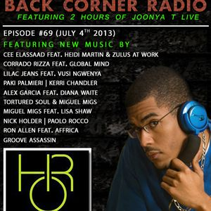 BACK CORNER RADIO: Episode #69 (July 4th 2013)