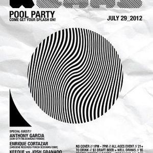 KeeQue vs Josh Granado Live at Rehab Pool Party Aloft Hotel, San Antonio, TX 7-29-12