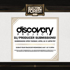 Discovery Project Electric Forest Festival Booking 2019