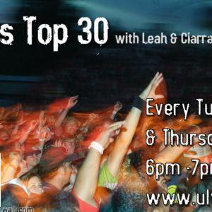 UL's Top 30 with Leah & Ciarrai - 02/02/12