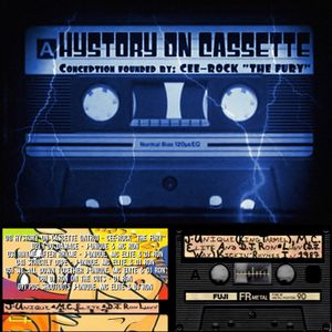 J-UNIQUE (a.k.a. KING TARMEL), MC ELITE & DJ RON Kickin' Rhymes in 1987 [Hystory On Cassette]
