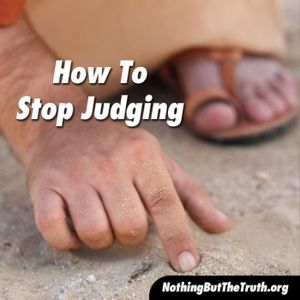 How To Stop Judging