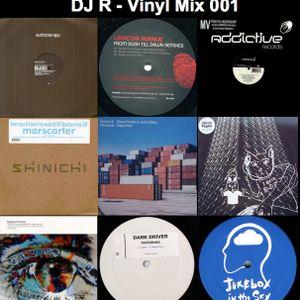 DJ R - Vinyl Mix 001