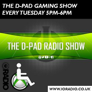 The D-Pad Gaming Show with Stuart Tredree on IO Radio 101017