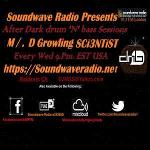 After Dark d'N'b By DJ.MGS and Guest Mix By DJ.Benson (S.A) Vol.37 'Tick-Tock'