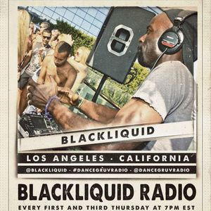 Blackliquid Radio Show on Dance Gruv Radio - Ep8