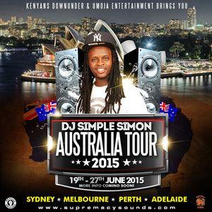 Simple Simon Australia Tour Promo