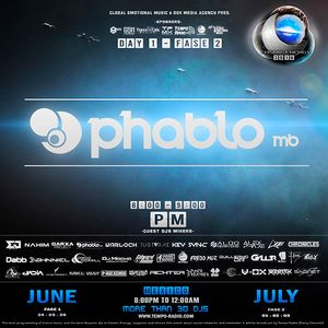 Phablo MB Cosmic Energy 2016 ( 1/07/2016 )