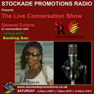 The Live Conversation Show With Foundation Artist Ranking Ann 7th July 2017
