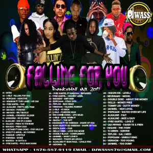 DJ WASS - FALLING FOR YOU_DANCEHALL MIX_MAY 2017_(CLEAN VERSION)