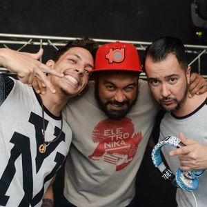 Mauro Telefunksoul ao vivo na festa KaosBAssCrew no 30 segundos bar Salvador Bahia