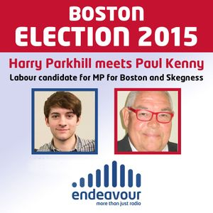 BOSTON ELECTION 2015 - Harry Parkhill speaks to Paul Kenny, Labour Candidate